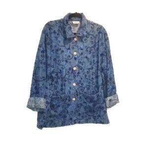 APRIL CORNELL vintage embroidered jacket